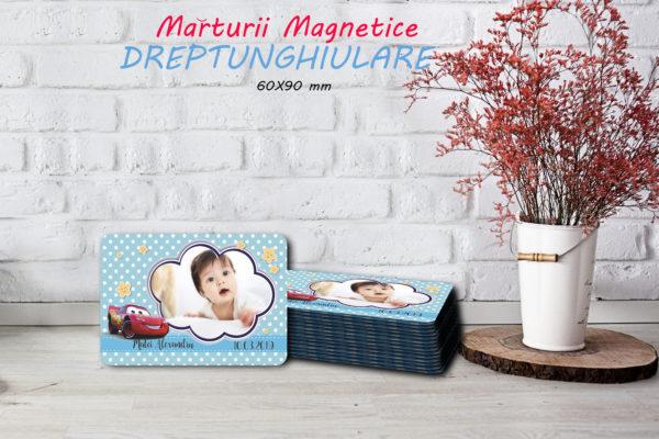 Cars 002 600x400 Marturie Magnetica dreptunghiulara fetita - Masinute - Cars 002 fotomarturii-magnetice