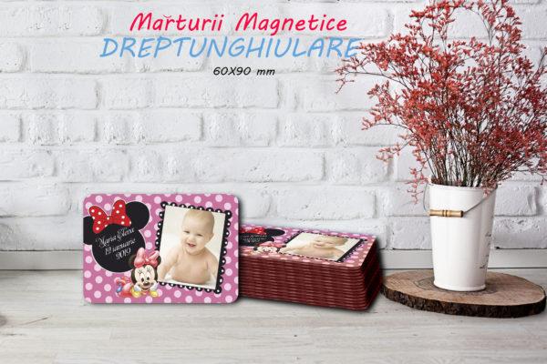Minnie 002 600x400 Marturie Magnetica dreptunghiulara fetita - Minnie 002 fotomarturii-magnetice