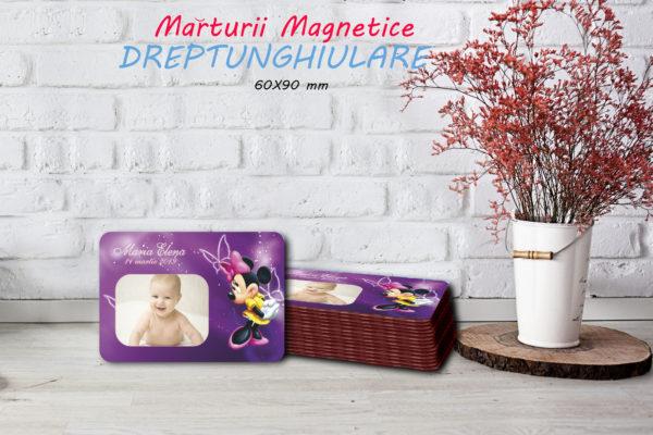 Minnie 003 600x400 Marturie Magnetica dreptunghiulara fetita - Minnie 003 fotomarturii-magnetice
