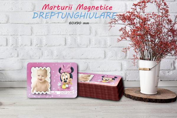 Minnie 004 600x400 Marturie Magnetica dreptunghiulara fetita - Minnie 004 fotomarturii-magnetice