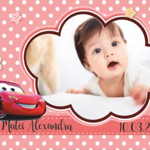 cars 001 300x300 Marturie Magnetica dreptunghiulara fetita - Masinute - Cars 001 fotomarturii-magnetice
