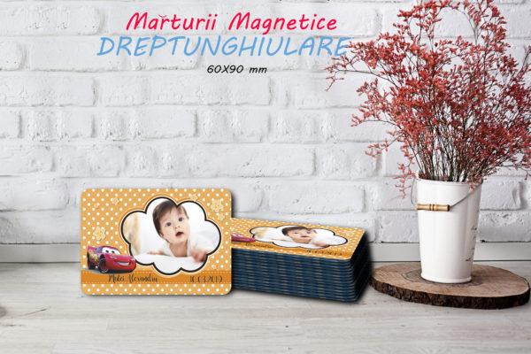 cars 003 600x400 Marturie Magnetica dreptunghiulara fetita - Masinute - Cars 003 fotomarturii-magnetice