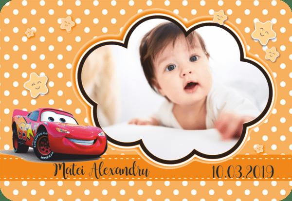 cars 003 600x413 Marturie Magnetica dreptunghiulara fetita - Masinute - Cars 003 fotomarturii-magnetice