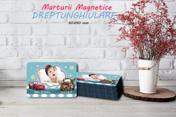 cars 004 600x400 Marturie Magnetica dreptunghiulara fetita - Masinute - Cars 007 fotomarturii-magnetice