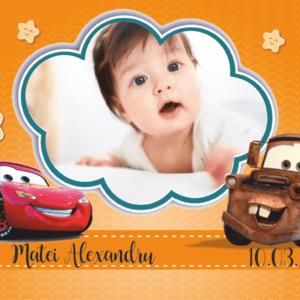 cars 005 300x300 Marturie Magnetica dreptunghiulara fetita - Masinute - Cars 008 fotomarturii-magnetice