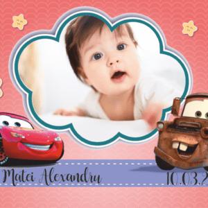 cars 006 300x300 Marturie Magnetica dreptunghiulara fetita - Masinute - Cars 004 fotomarturii-magnetice