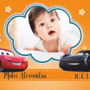 cars 007 300x300 Marturie Magnetica dreptunghiulara fetita - Masinute - Cars 005 fotomarturii-magnetice