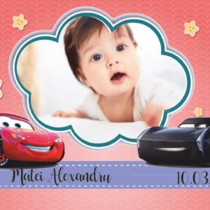 cars 008 300x300 Marturie Magnetica dreptunghiulara fetita - Masinute - Cars 006 fotomarturii-magnetice