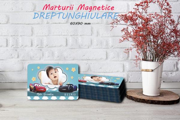 cars 009 600x400 Marturie Magnetica dreptunghiulara fetita - Masinute - Cars 009 fotomarturii-magnetice