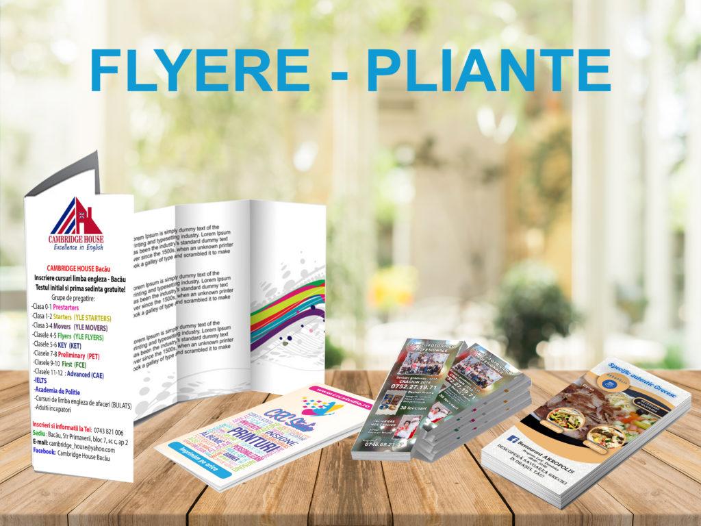 Flyere Pliante Crc Studio Invitatii Personalizare Printare