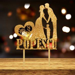 Top111 Miri Nume baiat 022 300x300 Topper tort - Miri + baietel, Mr&Mrs nume familie, - 002 topper-tort-nunta