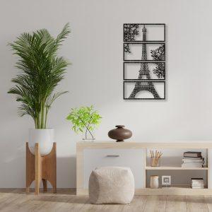 Tablou paris wenge 300x300 Tablou lemn Paris tablouri-decupate-din-lemn