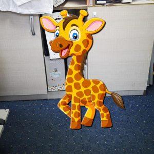 Girafa 300x300 Decoratiune Candy Bar  - Girafa 80 cm personalizari-diverse-2